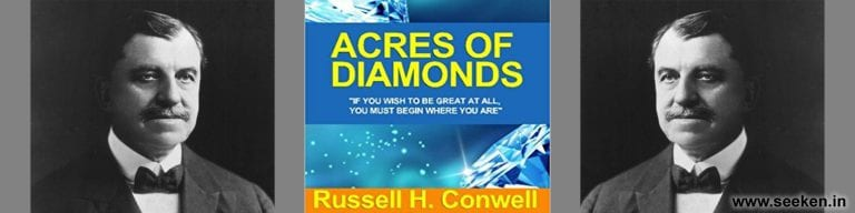 Acres of Diamonds BY Russell Herman Conwell – Book Summary