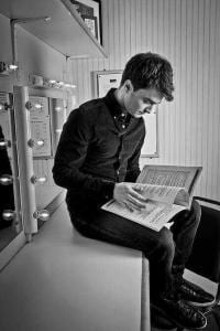Daniel Radcliffe - Top 5 Hollywood Celebrities Who Love Reading Books