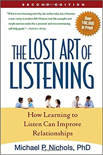 The Lost Art of Listening Summary